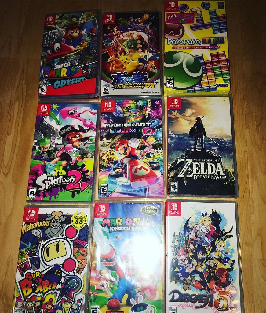 Nintendo Switch Collection Super Mario Odyssey Iain