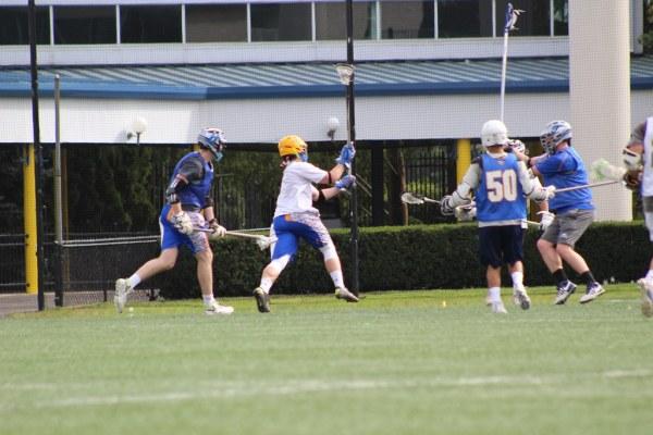Men's Lacrosse Alumni Game, 10/7/17, PC: Zachary Englis ...