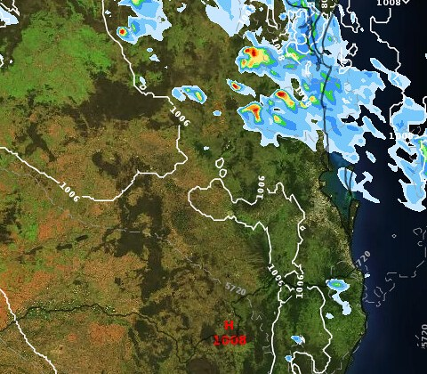 HD Decor Images » SE QLD  NE NSW Showers Storms  possible heavy falls   29 Nov to 5     This is the 1hr precip from ACCESS C for 5pm 6pm today from Weatherzone  Layers  https   www weatherzone com au layers