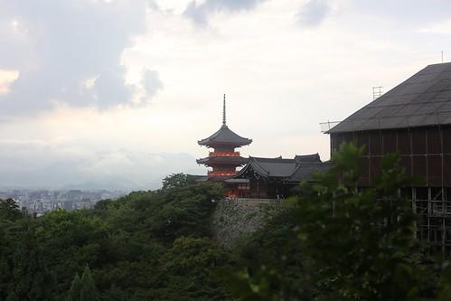 【2017日本京都七日訪】整修中的清水寺+夜間的衹園