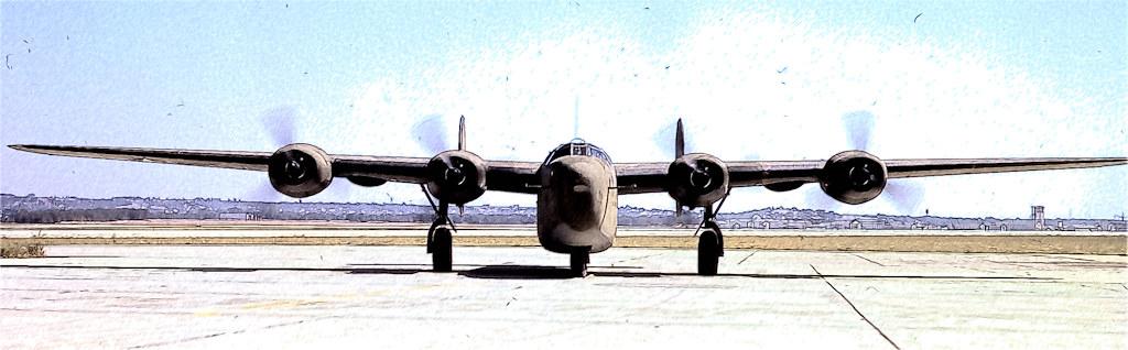 C-87 Liberator Express - World War 2 heavy transport plane