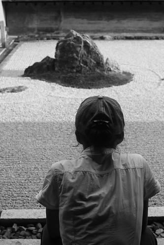 【2017日本京都七日訪】金閣寺+龍安寺枯山水
