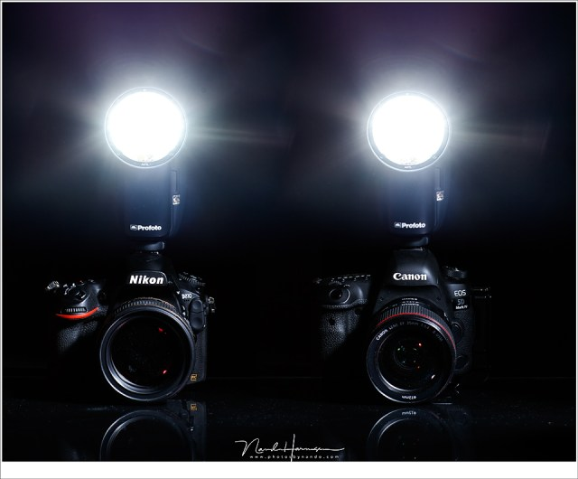 De Profoto A1 is er momenteel voor Canon en Nikon, maar er zullen ongetwijfeld meer merken volgen.