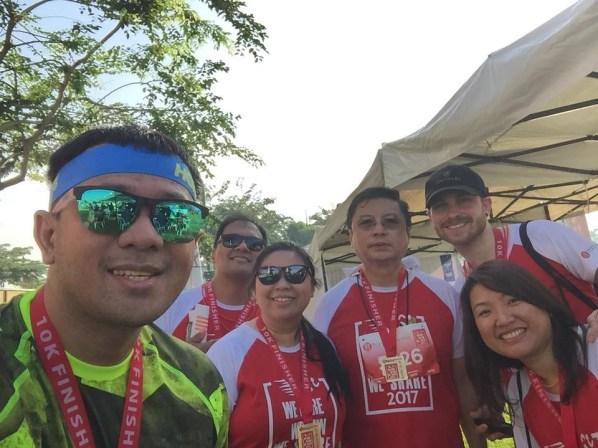 With Joseph, Arlyn, Cocoy Tacandong, Paul and Ms Carol.