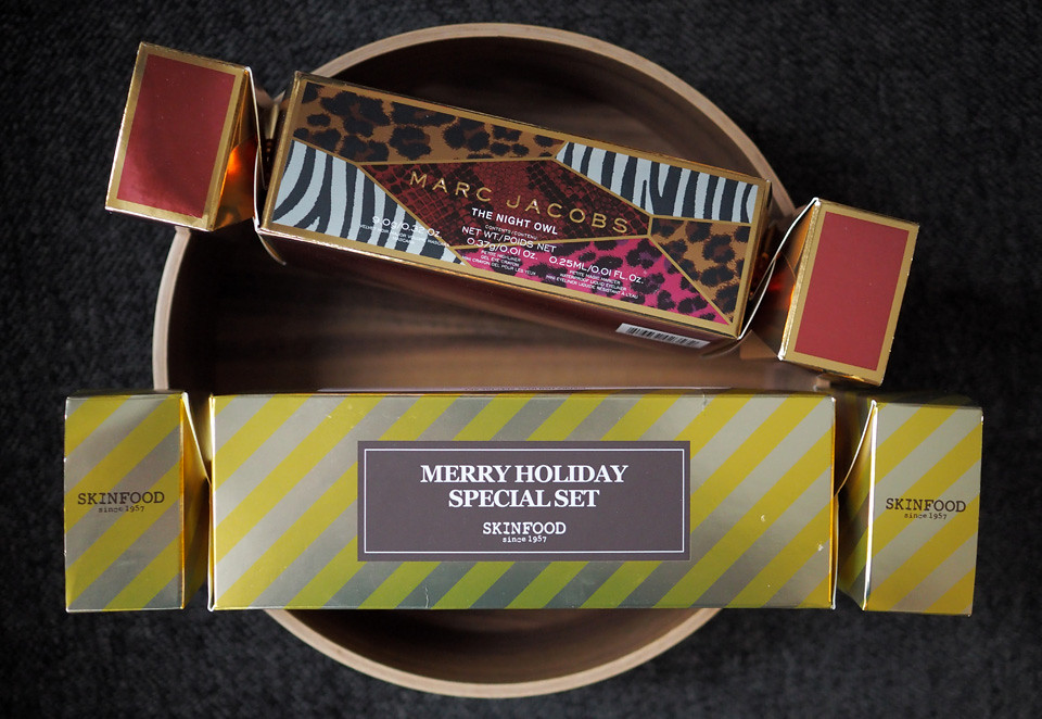marc jacobs skinfood christmas cracker