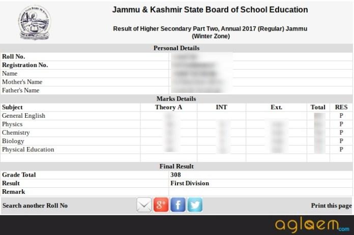 jkbose class 12 annual exam result 2017 declared for jammu. Black Bedroom Furniture Sets. Home Design Ideas