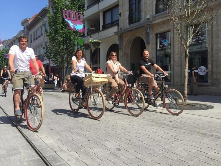 Fietsen in en om de stad Mechelen