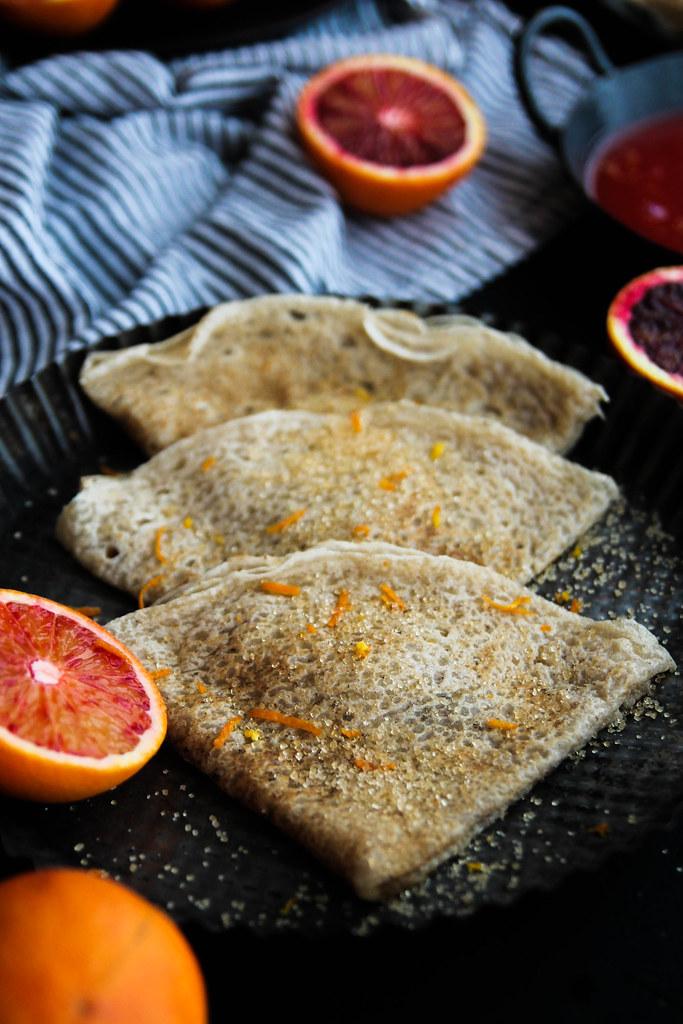 Crêpes vegan et sans gluten tofu