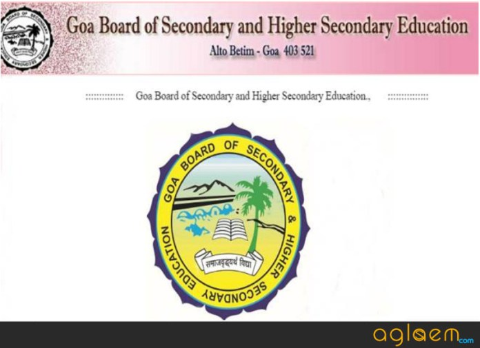 Goa Board Result