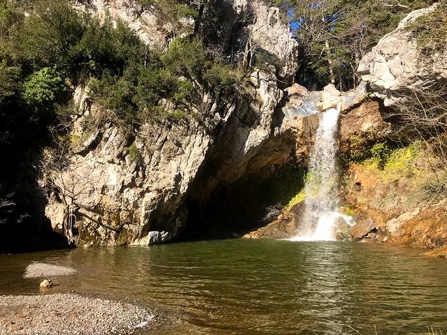 The waterfall of Drymonas