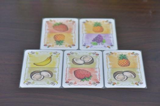 混合水果卡
