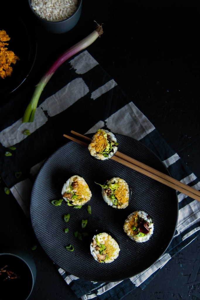 recette de Veggie maki