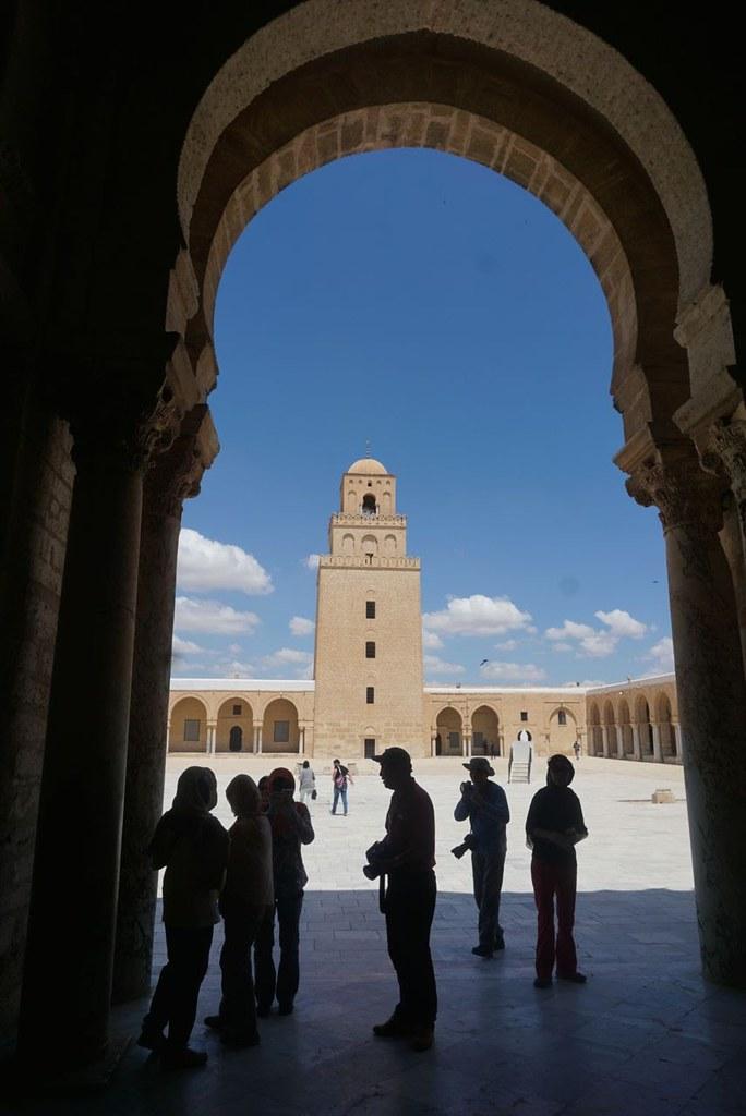kairouan great mosque minaret