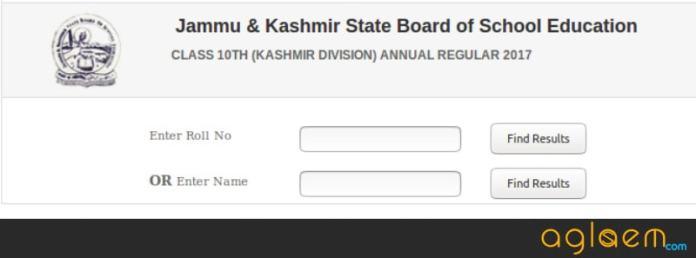 JkBOSE 10th Result 2018 Kashmir Biannual
