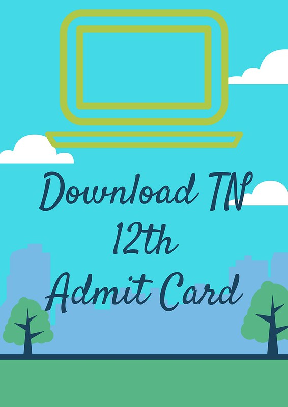 TN 12th Hall Ticket 2018 for Private Candidate