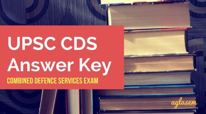 CDS Answer Key
