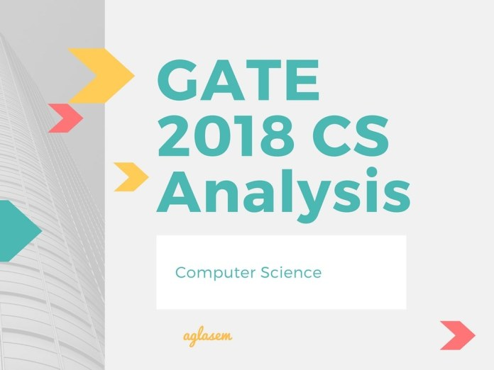 GATE 2018 CS Paper Analysis and Review