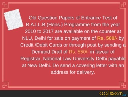 AILET 2018: Exam Date, Application Form, Last Date, Admit Card, Syllabus  %Post Title | AglaSem