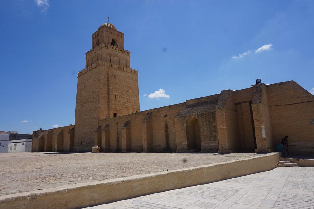 kairouan mosque minaret dome