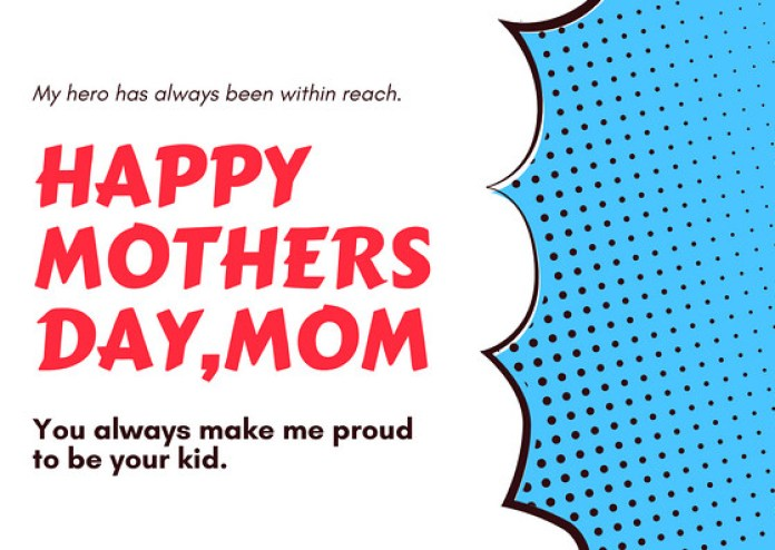 mothers day greeting card design