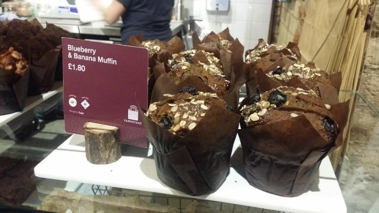 Gluten free muffins from Farmstand | Covent Garden | Central London | 100% gluten free restaurant