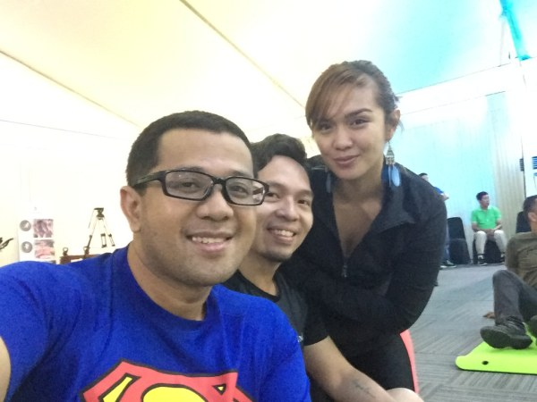 With Allan and Z