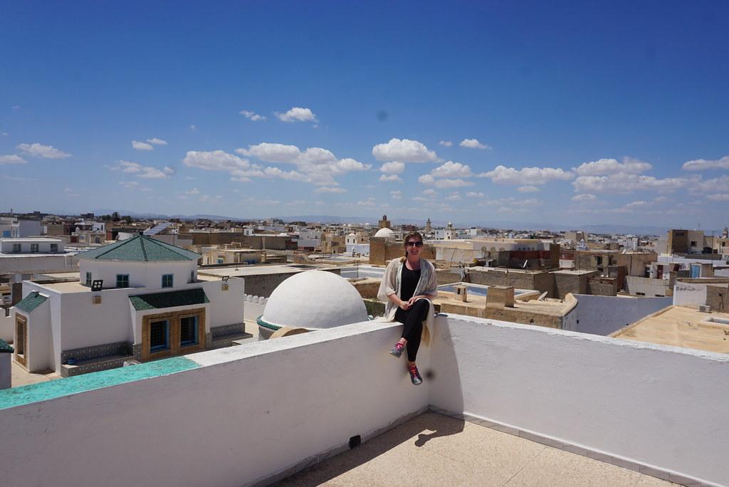 kairouan tunisia rooftop