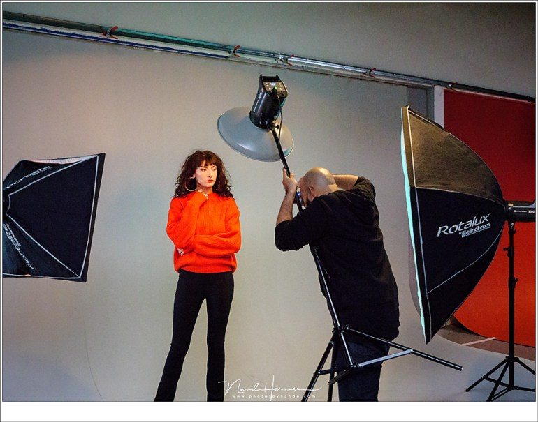 Richard Terborg aan het fotograferen