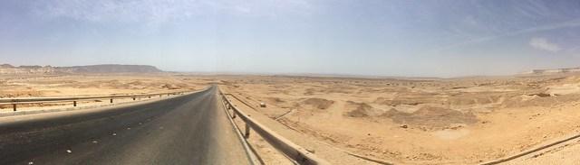 Un tipico panorama omanita