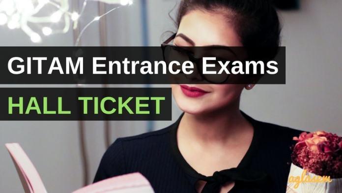 GITAM Hall Ticket 2018