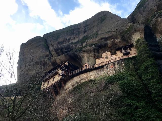 The Ypapanti Monastery in meteora