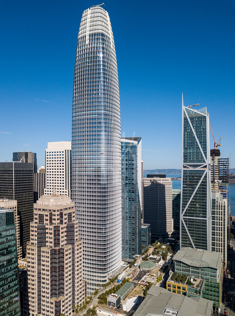 Salesforce Tower Blog Post Here Hunterkerhart Com San