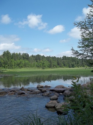 The Mississippi River headwaters