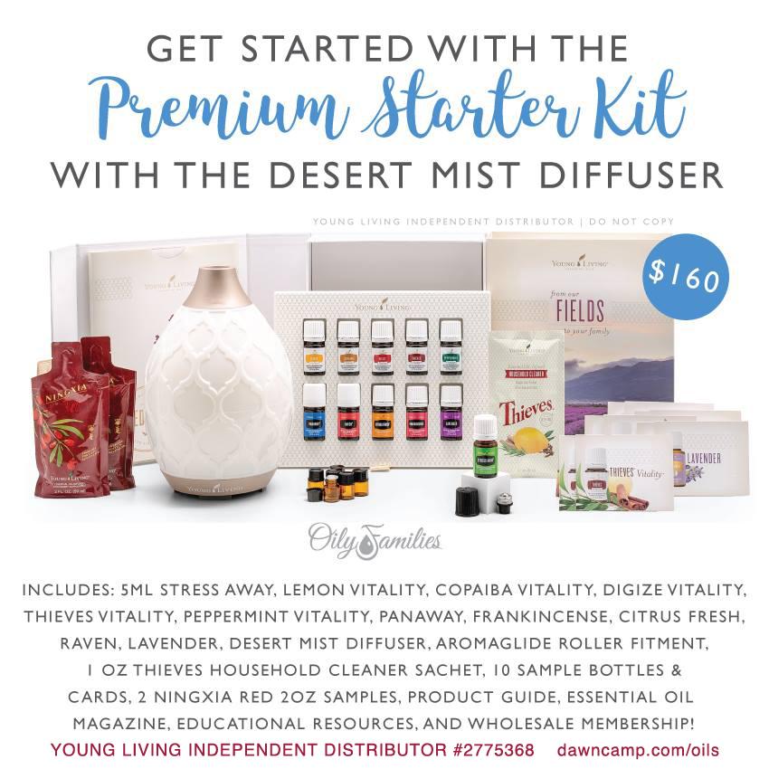Desert Mist Premium Starter Kit