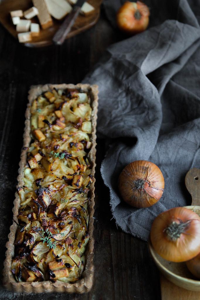 recette de Quiche aux oignons