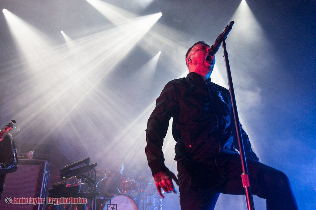 Sam Carter of Architects at The Vogue Theatre in Vancouver, BC on March 1st 2018