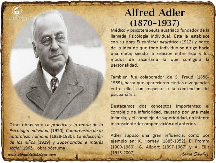 El Baúl de los Autores: Alfred Adler