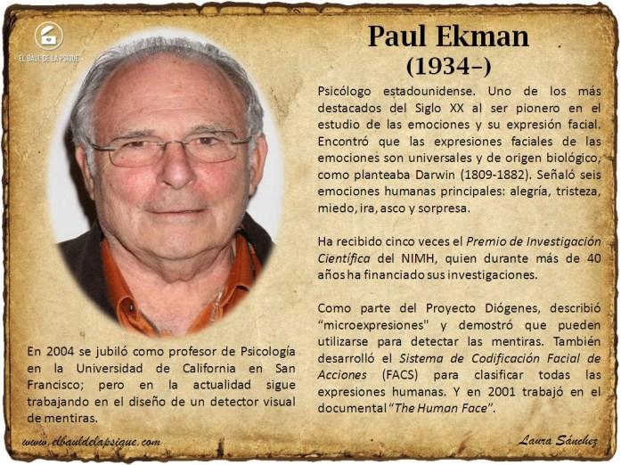 El Baúl de los Autores: Paul Ekman