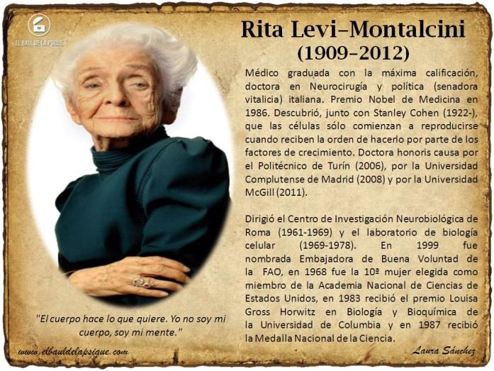 El Baúl de los Autores: Rita Levi-Montalcini