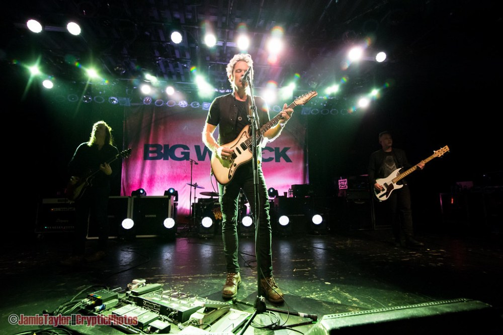 Ian Thornley of Big Wreck at The Commodore Ballroom in Vancouver, BC on March 1st 2018