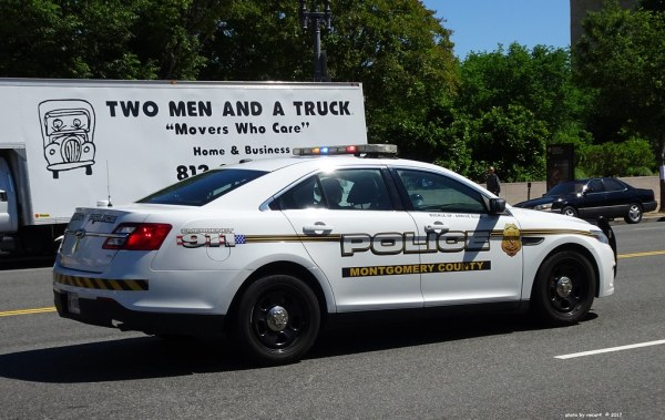 Montgomery County, Maryland Police - Ford Police Intercept ...
