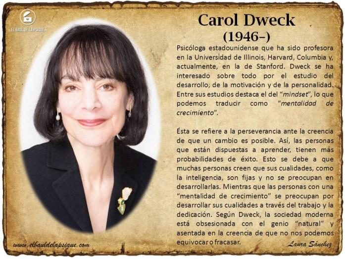 El Baúl de los Autores: Carol Dweck
