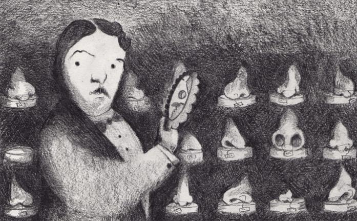 Ilustración de Wolf Man, el famoso paciente de Freud que sufría Trastorno Dismórfico Corporal.