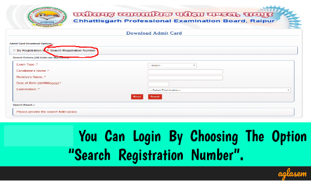 CG PET Admit Card 2018