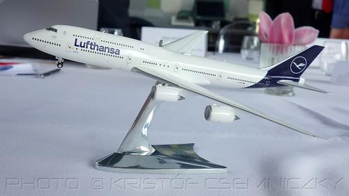 Lufthansa Boeing 747 8 Intercontinental New Livery Her
