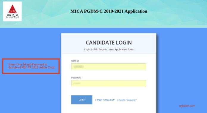 MICAT 2020 Admit Card Download