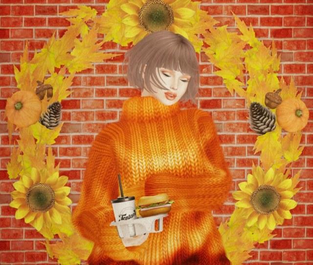Random Gifts And Fall Go Bye Bye By Sileny Noel
