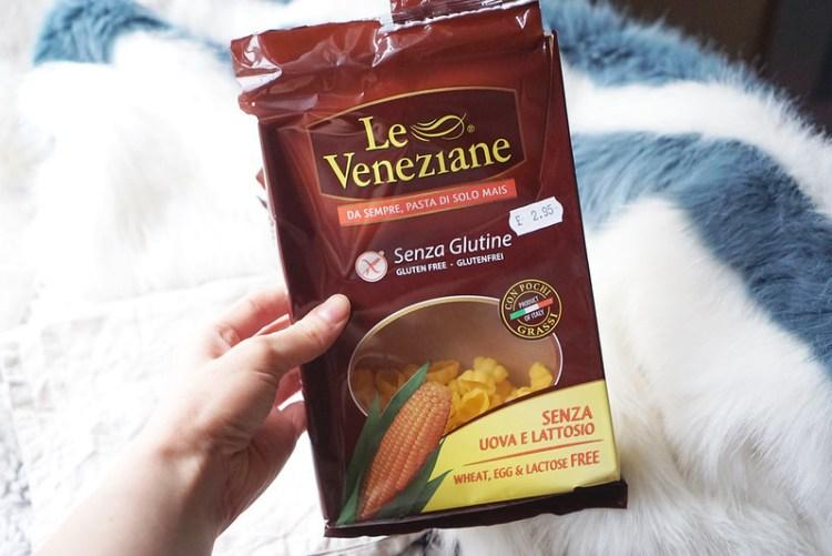 Le Veneziane pasta shells | Quick pressure cooker gluten free chicken noodle soup