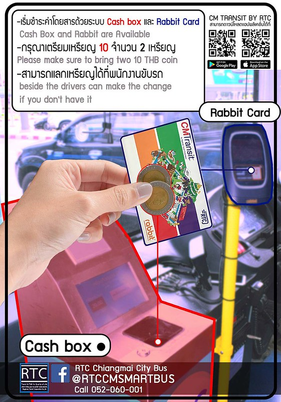 Getting Around Chiang Mai By Public Bus - The RTC Chiang Mai City Bus