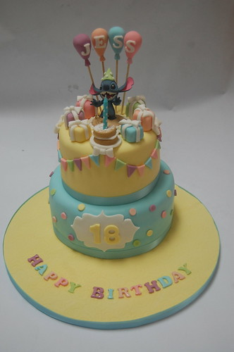 Lilo And Stitch Cake Beautiful Birthday Cakes